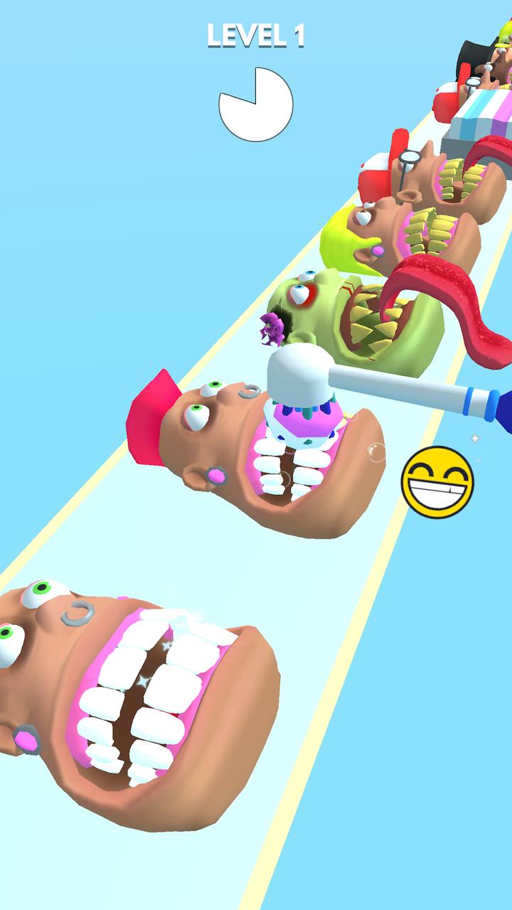 刷牙冲冲冲游戏截图